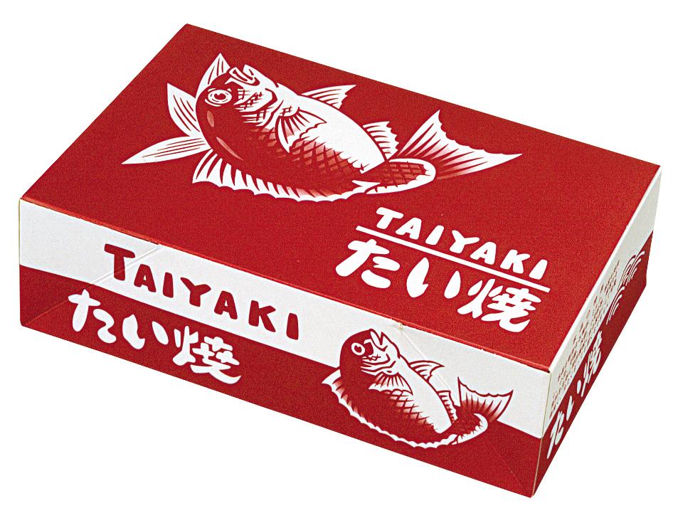 鯛焼箱 赤鯛