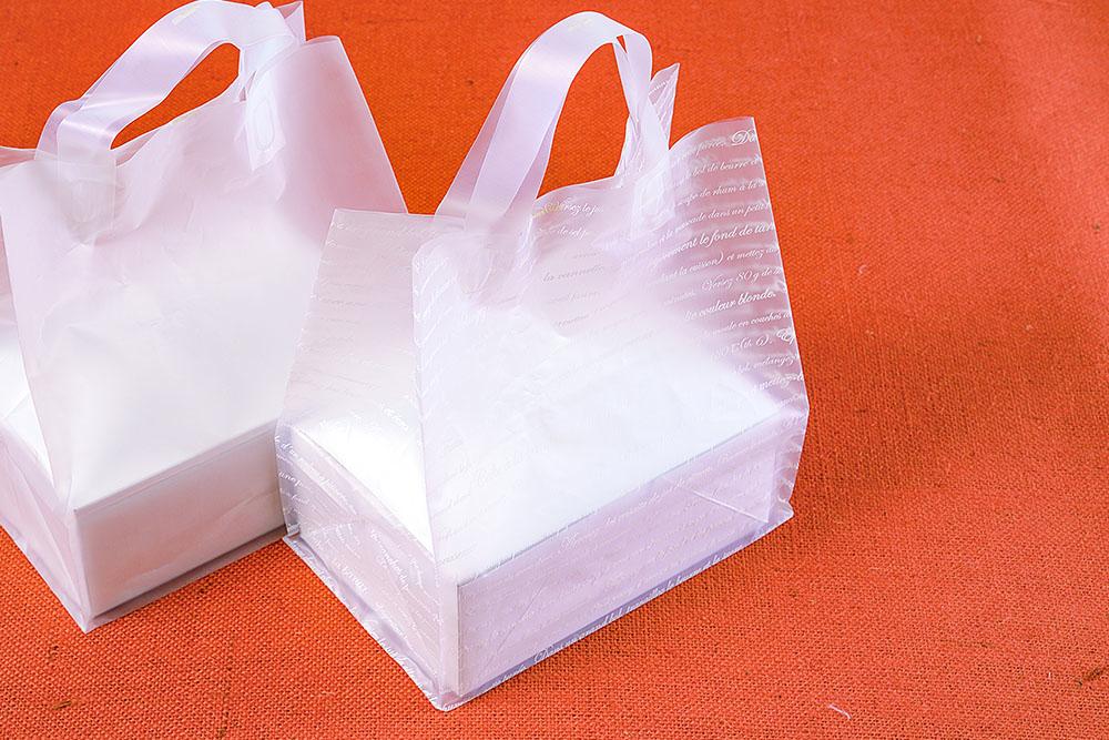 角底ループ袋(レシピ柄)