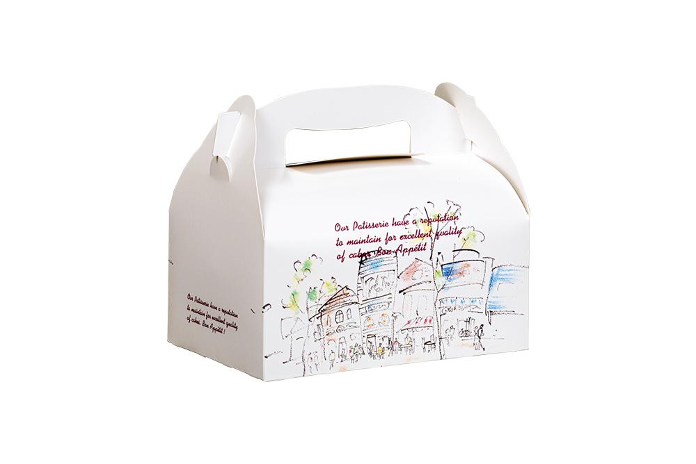 洋菓子サービス箱T</br>(手提げ)ティータイム
