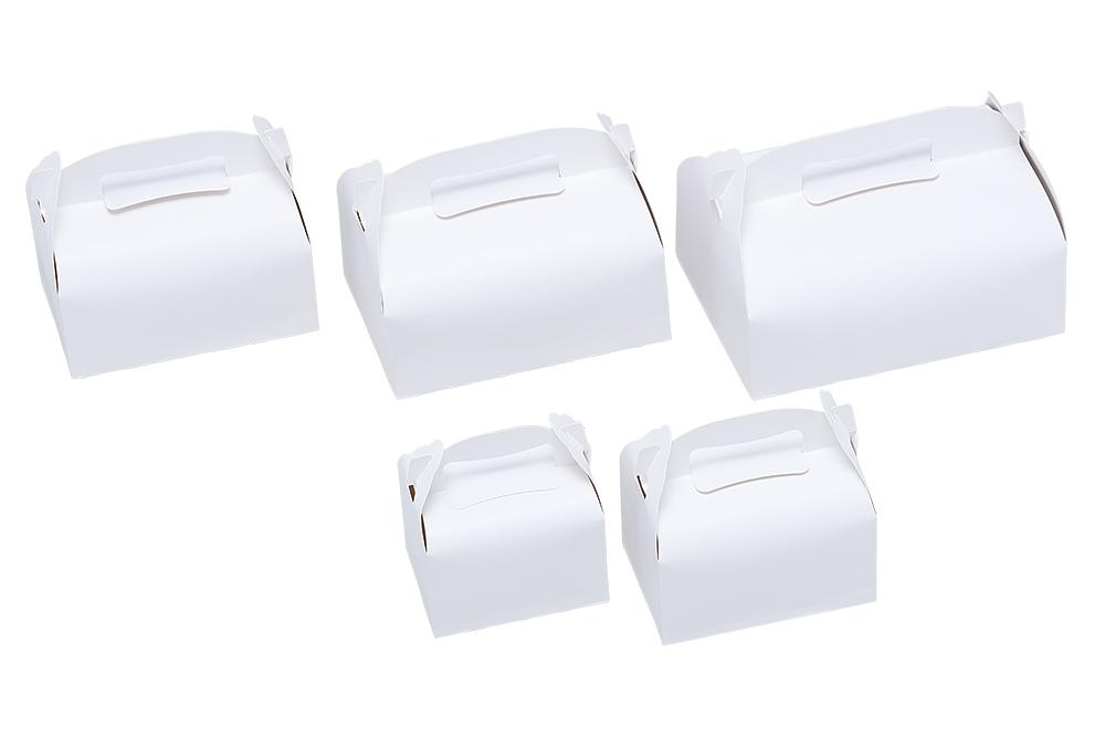 洋菓子サービス箱T</br>(手提げ)ホワイト