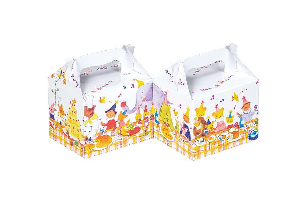 洋菓子1個入箱 T-1</br>森のパーティー
