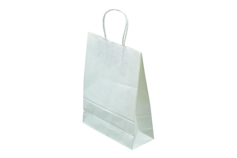 紙手提袋「片ツヤ無地」